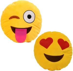 Cortina Smiley Pillow Set Of 2 -008  - 12 cm