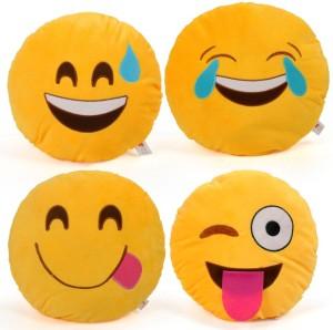 Cortina Smiley Pillow Set Of 4 -007  - 12 cm