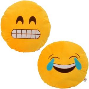 Cortina Smiley Pillow Set Of 2 -005  - 12 cm