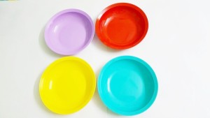 Tupperware Expression flat Dish Set