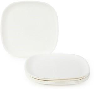 JOY HOME Quarter Plate Square White Plate