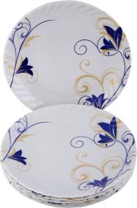 Sony crazy kali trendy snacks round half plate Plate Set