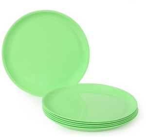 JOY HOME Quarter Plate Round Green Plate