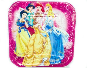 Ziggle Disney Princess Plate Set