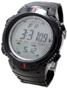 Rokcy Digital Sports Digital Son Watch with Stopwatch , Alarm - Black Dial - For Men and Boys