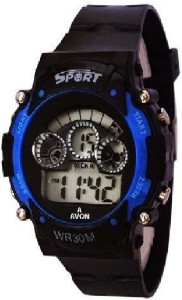 Rokcy Analog Digital Smart Watch Multi Color Dial Sports Watch for Kids Blue