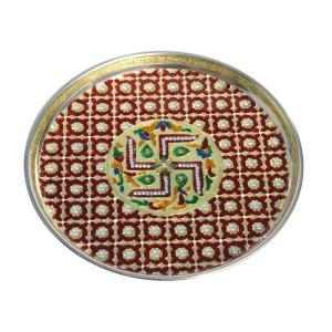 Handicrafts Paradise Pooja Thali Sets Price In India Handicrafts