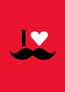 I Love Mooch - Red A3 Non Tearable High Quality Printed Poster - Wall Art Print (Size : 11.7 X 16.5) , For Bedroom , Living Room, Kitchen, Office, Room Paper Print