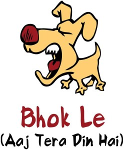 Bhok Le Dog Funny A3 Cotton Canvas High Quality Printed Poster - Wall Art Print (Size : 11.7 x 16.5) , For Bedroom , Living Room, Kitchen, Office, Room Canvas Art