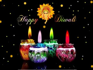 Happy Diwali Poster Paper Print 12 Inch X 18 Inch Rolled Best Price