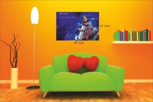 AnanyaDesigns Wall Poster A R Rahman Paper Print 18 inch X 12 inch, Rolled available at Flipkart for Rs.215