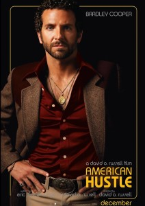 American Hustle Gangstar A3 Cotton Canvas High Quality Printed Poster - Wall Art Print (Size : 11.7 x 16.5) , For Bedroom , Living Room, Kitchen, Office, Room Canvas Art