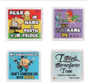Thoughtroad Think Beer Fridge Magnet
