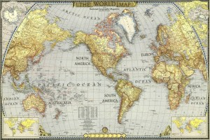 World Map Poster Paper Print 12 Inch X 18 Inch Rolled Best Price In
