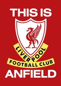 Liverpool Football Club Love A3 Cotton Canvas High Quality Printed Poster - Wall Art Print (Size : 11.7 x 16.5) , For Bedroom , Living Room, Kitchen, Office, Room Canvas Art