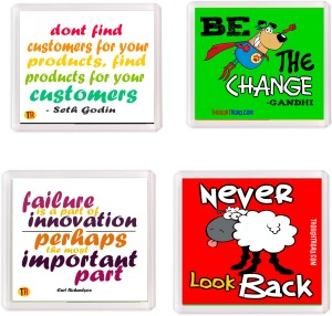 Thoughtroad Inspire From Failure Fridge Magnet