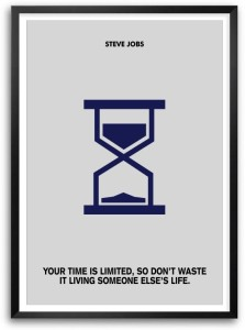 Time Is Limited Steve Jobs Quotes Famous Life Inspiring Framed Paper Print
