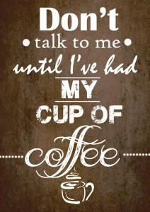 Coffee Table Quote A3 Cotton Canvas High Quality Printed Poster - Wall Art Print (Size : 11.7 x 16.5) , For Bedroom , Living Room, Kitchen, Office, Room Canvas Art