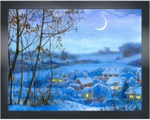 art factory nature painting cf 1349 22x16 canvas art 16 inch x 22