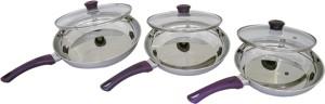 Uniqraft Purple Pan 22 cm, 24 cm, 26 cm diameter