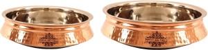 IndianArtVilla Set of 2 Induction Handi Handi 3450 L