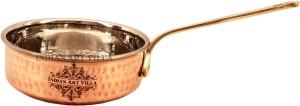 IndianArtVilla Steel Copper Fry Pan Pan 11.43 cm diameter