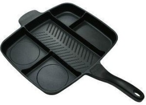 Shrih Multi Section 5 in 1 Extra Large Non-Stick Pan 32 cm diameter