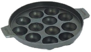 Divinext 12-Cavity Nonstick Appam Patra Tawa 18 cm diameter