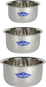SHREE GAUTAM Highly Durable Pan 16.5 cm, 18 cm, 19.3 cm diameter