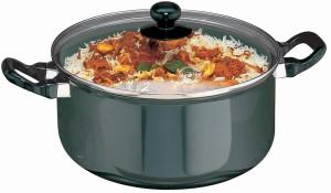 Hawkins Futura Cook-n-Serve with Glass Lid Pot 5 L