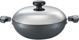 Prestige HA flat base kadhai 240 mm Kadhai 3 L