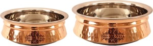 IndianArtVilla Set of 2 Induction Handi Handi 1500 L
