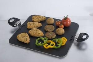 Kitchen Chef Square Party Tawa 30.5 cm diameter