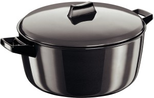 Hawkins Futura Hard Anodized Cook-n-Serve Bowl Pot 6 L