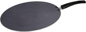 Classic Black Matallic Aluminium Non Stick Flat Tawa 33 cm diameter