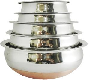 Radhey Elegant Copper Bottam Handi 1600 ml L