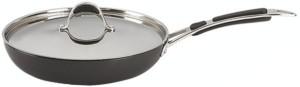 Alda HA Fry Pan 240 mm with Stainless Steel Lid Pan 24 cm diameter