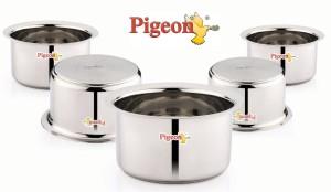 Pigeon Triply Tope Set Pot 1 L, 1.4 L, 2 L, 2.4 L, 3 L
