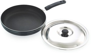 Coconut Frypan With SS Lid Pan 28 cm diameter