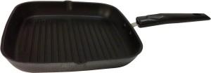Bigchef Pan Square Grill pan 24Cm With detachable handle cm diameter