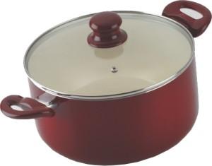 Alda Ceramic Coated Casserole with Lid 2.5 L Pot 2.5 L