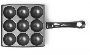 Sumeet Nonstick 3mm Square (Appam Patra) 9 Pcs