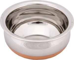 Bhalaria Copper Bottom Chetty Pan 21.5 cm diameter