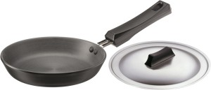 Hawkins Futura Hard Anodized Frying Pan 18 cm with Lid Pan 18 cm diameter