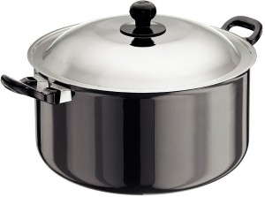 Hawkins Futura Hard Anodized Cook-n-Serve Pot 8.5 L