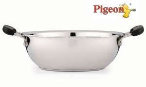 Pigeon Triply Without Lid Kadhai 0.5 L