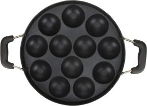 EAZYGRILL Non-Stick Appam Patra 12 Cavity with handle Paniyarakkal