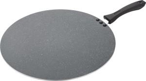Classic Grey Marbal Coating Aluminium Non Stick Flat Tawa 33 cm diameter