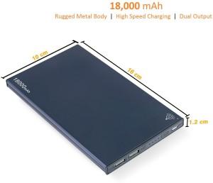 Parallel Universe 007-GL-18K-BL1 Heavy Duty 18000 mAh Power Bank