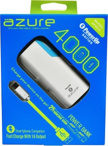 Azure 4000 mAh (AP401E) USB  4000 mAh Power Bank